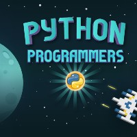 words python programmers in annimation space